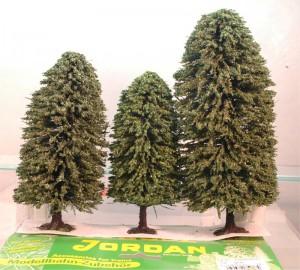 (Neu) Jordan Nr. 5C Laubbäume, 3 Stück, H0,