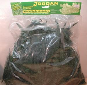 (Neu) Jordan Nr. 41A Großpack Tannenbäume, H0