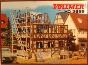 (Neu) Vollmer 3689 H0 Facherkhaus im Bau,