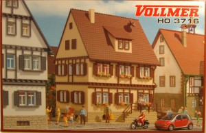 (Neu) Vollmer 3716 H0 Wohnhaus,