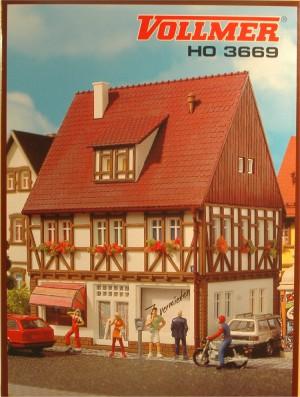 (Neu) Vollmer 3669 H0 Buchhandlung,