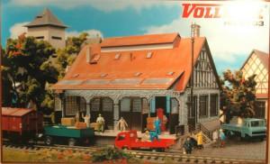 (Neu) Vollmer 5703 H0 Lagerschuppen,