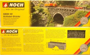 (Neu) Noch 58690 H0 Achtobel-Brücke,