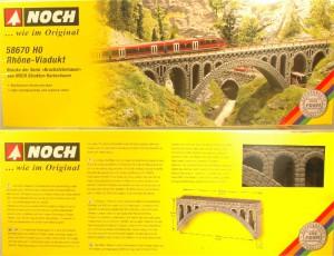 (Neu) Noch 58670 H0 Rhone Viadukt,