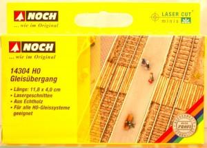 "(Neu) Noch 14304 H0 Laser Cut ""Gleisübergang"","