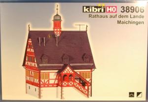 """(Neu) Kibri 38906 H0 Rathaus auf dem Lande """"Maichingen"""","""