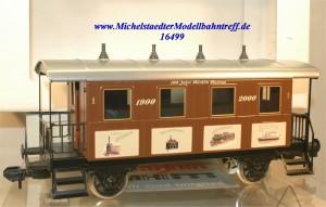 """Märklin Maxi 54708 Plattformwagen """"100 Jahre Märklin Museum"""", (1"""