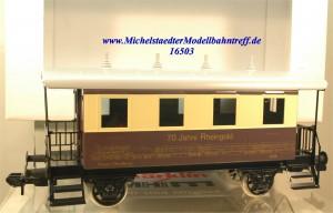 """Märklin Maxi 54709 Plattformwagen """"70 Jahre Rheingold"""", (16503)"""