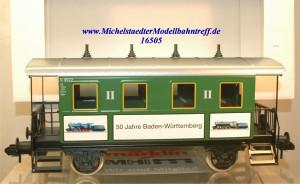 """Märklin Maxi 54719 Plattformwagen """"50 Jahre Baden Württemberg"""","""