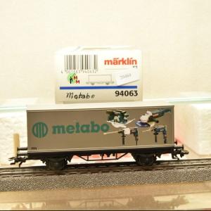 """Märklin 94063 Sonderwagen """"Metabo"""", (20464)"""