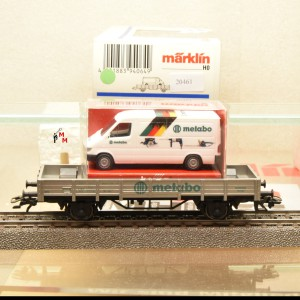 """Märklin 94064 Sonderwagen """"Metabo"""", (20461)"""