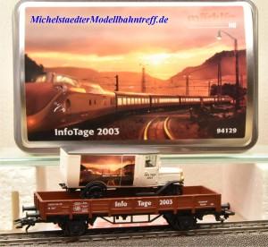 Märklin 94129 Info-Tage-Wagen 2003, (20504)