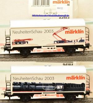 "Märklin 94184 ""Neuheitenschau 2003"", (10152)"