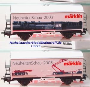 "Märklin 94184 ""Neuheitenschau 2003"", (13275)"