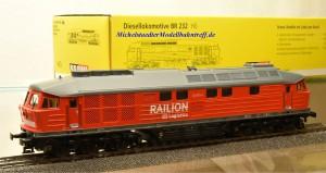 Brawa 41045 Diesellok BR 232 Railion, Wechselstrom-digital, (9842)