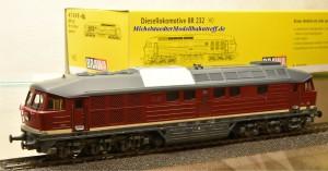 Brawa 41049 Diesellok BR 132 DR, Ep.IV, Wechselstrom-digital, (9826)