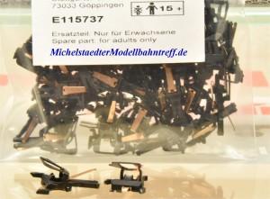 (Neu) Märklin E115737.1 Stromführende Kurzkupplung,(Paar)