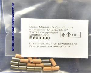 (Neu) Märklin 600300 Kohle und Bürste für Scheibenkollektor-Motoren,