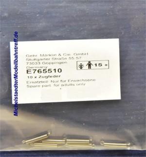 (Neu) Märklin E765510 Zugfedern, 10mm, einzeln,