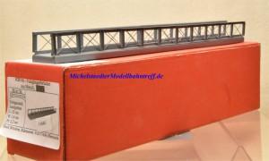 Hack F 25 H0-Fußgängerbrücke aus Metall, (11663)