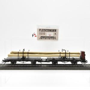 Fleischmann 5252K Drehschemelwagen-Gespann, DRG, (20937)