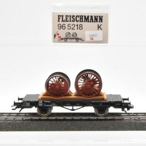 Fleischmann 96 5218K  Flachwagen der Deutschen Bundesbahn, (20943)