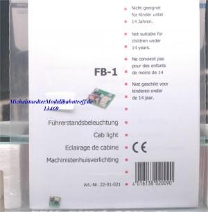 Tams FB-1 Führerstandsbeleuchtung, (13469)