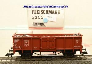 Fleischmann 5205 Offener Güterwagen mit Ladegut, DB, (11038)