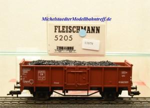 Fleischmann 5205 Offener Güterwagen mit Ladegut, DB, (11079)