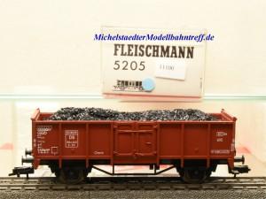 Fleischmann 5205 Offener Güterwagen mit Ladegut, DB, (11100)
