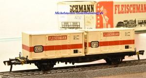 Fleischmann 5232 Container Tragwagen der DB, (21944)