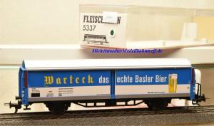 """Fleischmann 5337 Bierwagen """"Warteck"""" das echte Basler Bier, (20047)"""