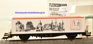 """Fleischmann 99 5237 Containerwagen """"950 Jahre Nürnberg"""", (11826)"""