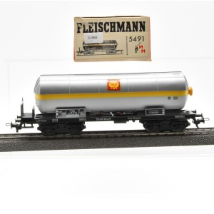 Fleischmann 5491  Druckgas-Kesselwagen Shell, (21404)