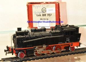 Gützold 5121/08 Dampflok BR 75.5 der DR, (21953)
