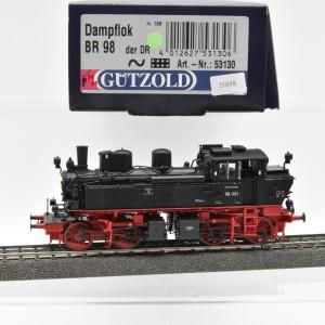 Gützold 53130 Dampflok BR 98 der DR, Wechselstrom, digital, (21058)