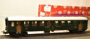Hag 415 Personenwagen 1.Kl. der SBB, (20106)