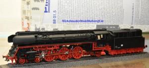 Piko 50200 Dampflok BR 01.5 der DR, Wechselstrom, digital, (9766)