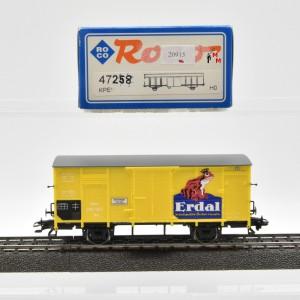 """Roco 47258 Flachdachwagen """"Erdal"""", (20915)"""