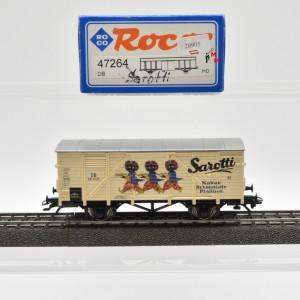 """Roco 47264 Flachdachwagen """"Sarotti"""", (20905)"""