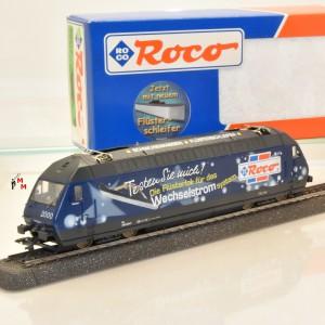 Roco 69517 E-Lok BR Re 460 SBB, Werbelok, Wechselstrom digital, (20412)       (20412)