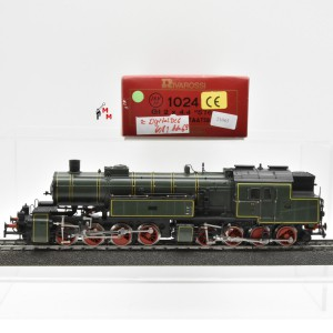 Rivarossi 1024 Dampflok BR Gt 2x4/4 der K.Bay.Sts.B., Wechselstrom, digital, (21065)