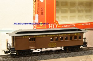 Rivarossi 2618 US-Personenwagen, Atchison, Topeka & Santa Fe, (11392)