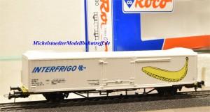 Roco 46880 Kühlcontainerwagen, DB, Interfrigo, (11833),