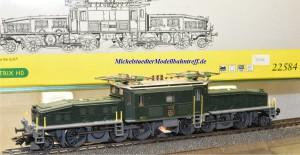 """Trix 22584 E-Lok Serie Ce 6/8 III SBB, """"Krokodil"""", Wechselstrom, digital Dec. Lenz 930, (20296)"""
