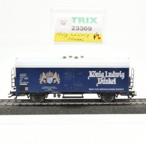 """Trix 23369 Ged. Güterwagen """"König Ludwig Dunkel"""", (20951)"""
