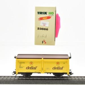 """Trix 23866 Hubschiebedach-Wagen """"delial"""",  (20954)"""