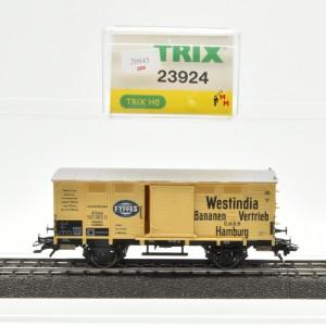 "Trix 23924 Flachdachwagen ""Westindia Bananen"", (20945)"