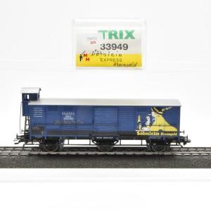 """Trix 33949 Ged. Güterwagen """"Söhnlein Rheingold"""", (20952)"""