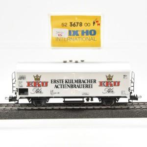 """Trix 52 3678 00 Ged. Güterwagen """"Erste Kulmbacher Actienbrauerei"""", (20953)"""